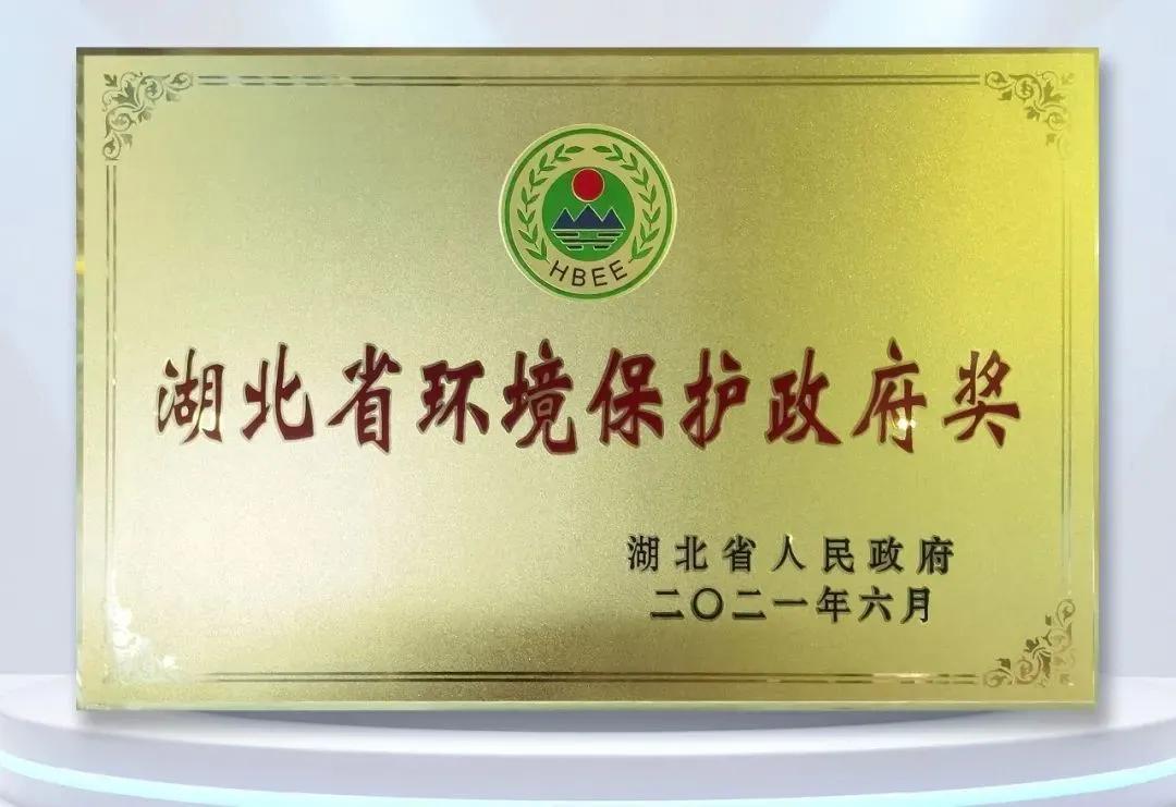 卓尔控股荣获第六届湖北省环境保护政府奖